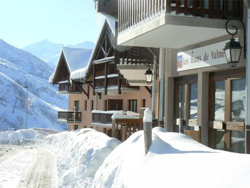 Location au ski Les Hauts De Valmeinier - Valmeinier - Extérieur hiver
