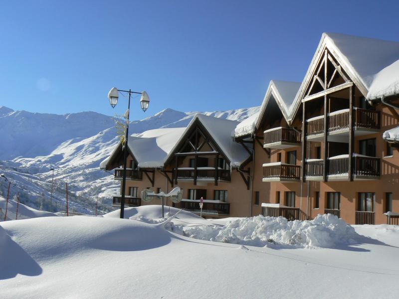 Vacances en montagne Les Hauts de Valmeinier - Valmeinier - Extérieur hiver