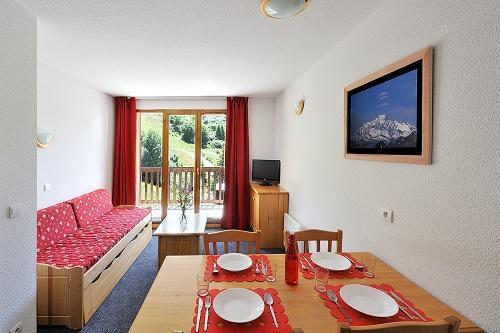 Location au ski Les Hauts De Valmeinier - Valmeinier - Coin repas