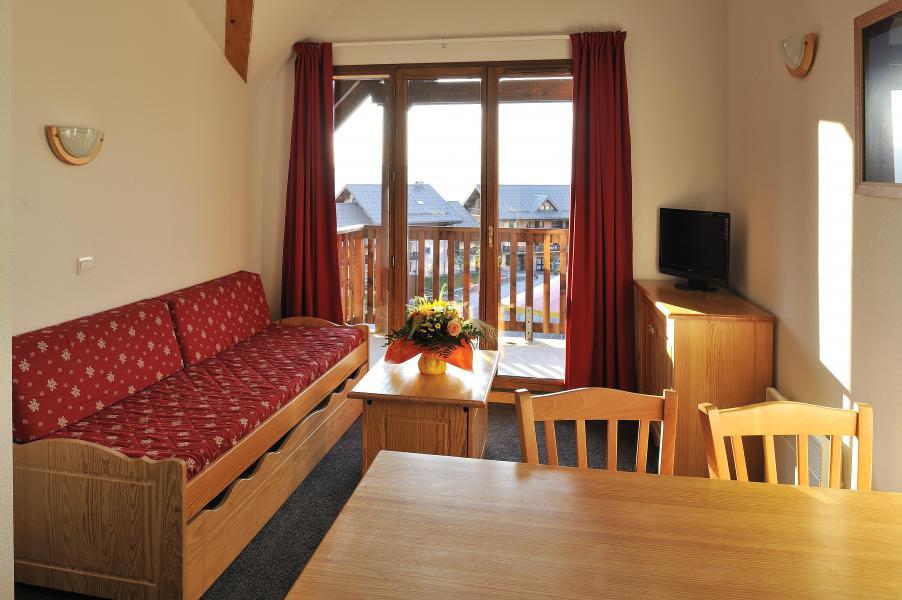 Location au ski Les Hauts de Valmeinier - Valmeinier - Séjour