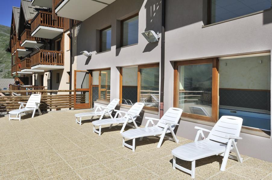 Location au ski Les Hauts de Valmeinier - Valmeinier - Solarium