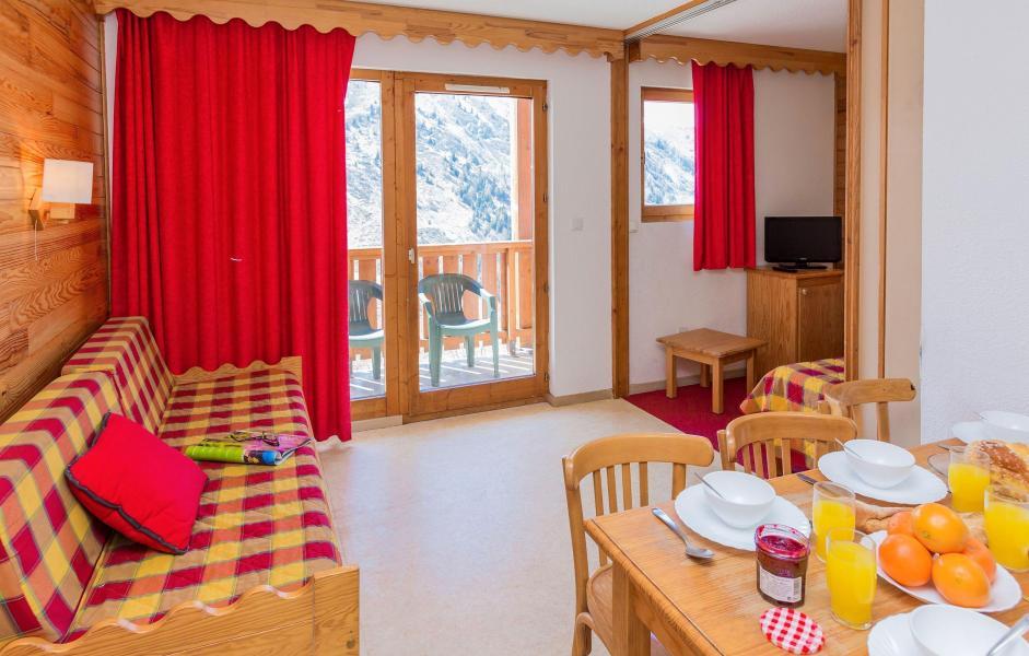 Location au ski Résidence l'Ecrin des Neiges - Valmeinier - Coin repas