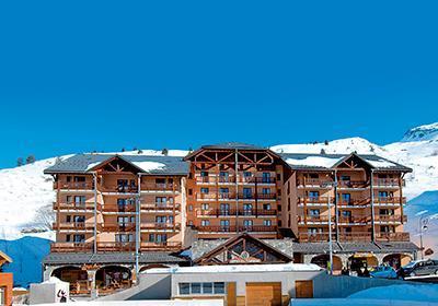 Location au ski Residence L'ours Blanc - Valmeinier - Extérieur hiver
