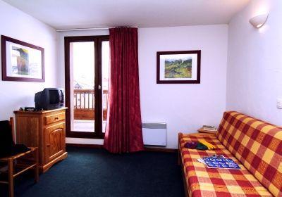 Location au ski Residence L'ours Blanc - Valmeinier - Canapé
