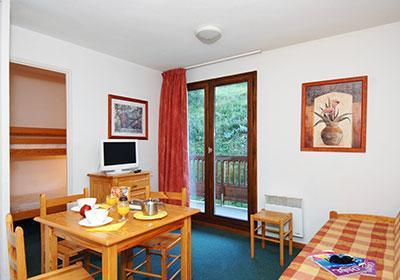 Location au ski Residence L'ours Blanc - Valmeinier - Salle à manger