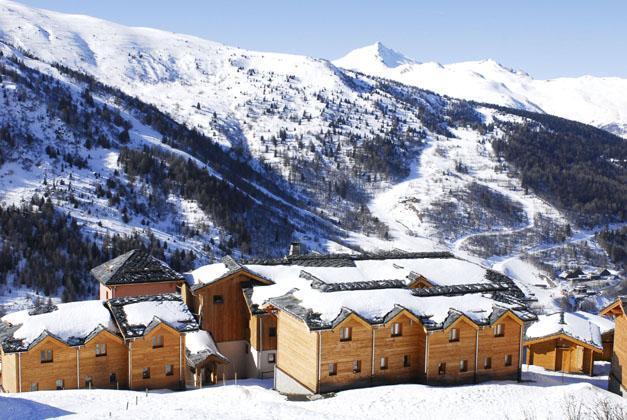 Location au ski Residence Lagrange Le Grand Panorama 2 - Valmeinier - Extérieur hiver