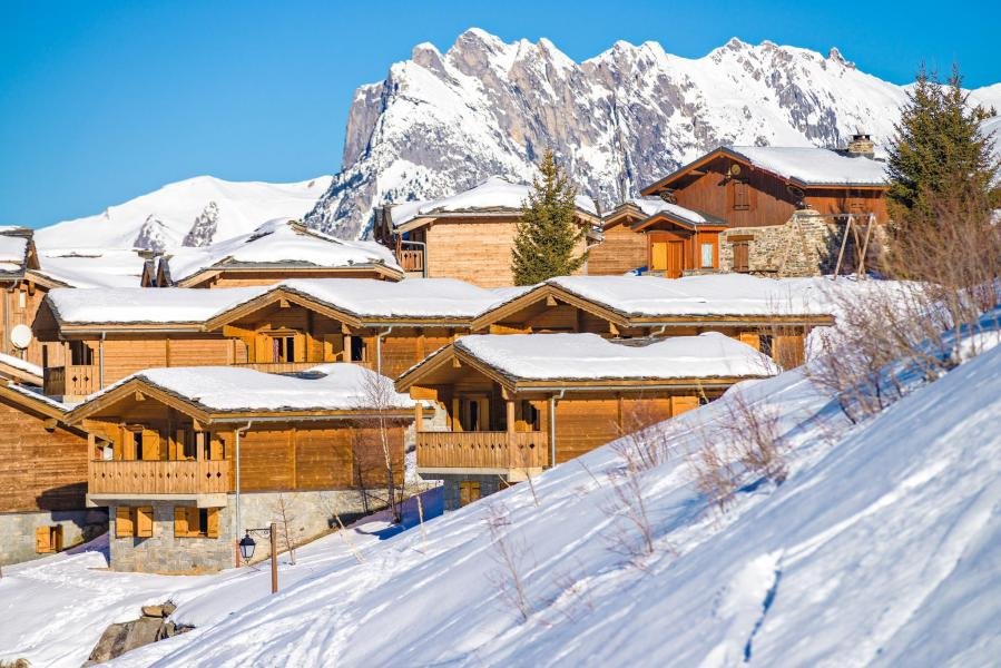 Rent in ski resort Résidence Lagrange le Grand Panorama 2 - Valmeinier - Winter outside