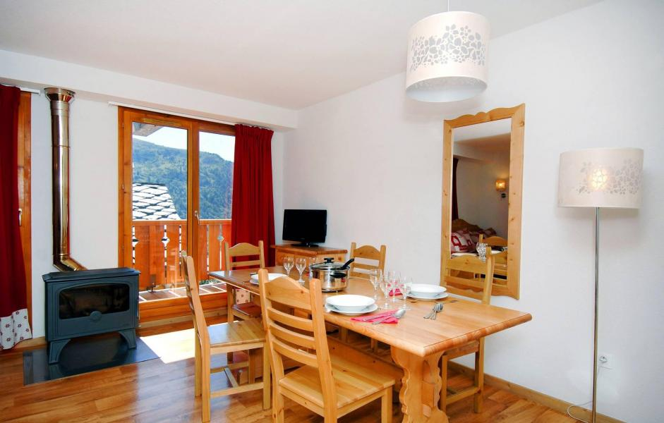Location au ski Residence Le Grand Panorama 1 - Valmeinier - Coin repas