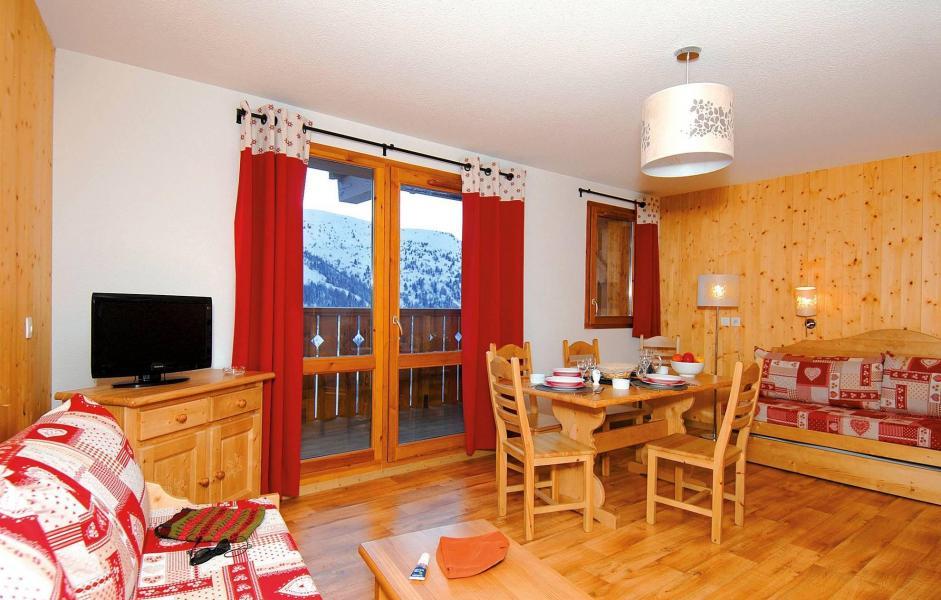 Аренда на лыжном курорте Résidence le Grand Panorama 1 - Valmeinier - Салон