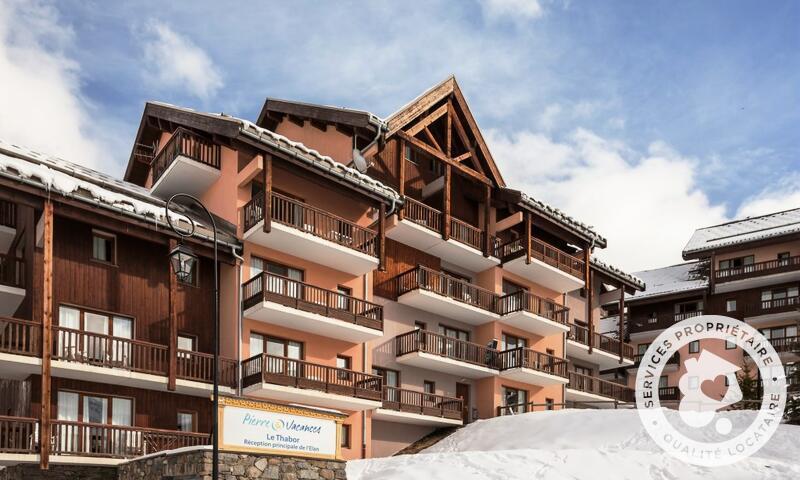Vacances en montagne Résidence le Thabor - Maeva Home - Valmeinier - Extérieur hiver