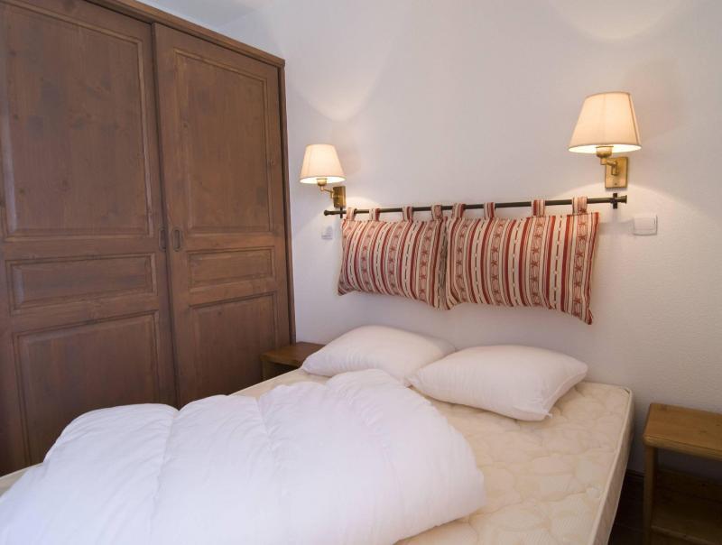 Аренда на лыжном курорте Résidence le Vermont - Valmeinier - Двухспальная кровать