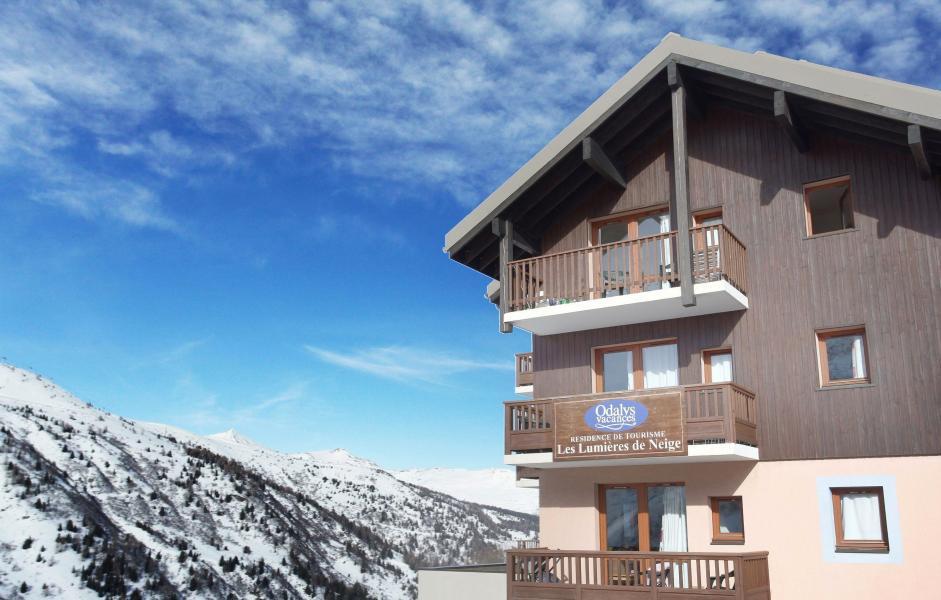 Vacances en montagne Résidence les Lumières des Neiges - Valmeinier - Extérieur hiver