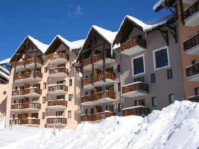 Location Valmeinier 1800 : Les Hauts De Valmeinier hiver