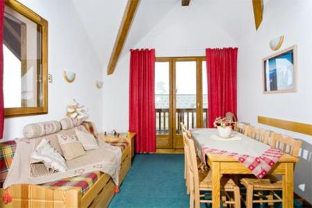 Location au ski Appartement 3 pièces 6 personnes - Les Hauts De Valmeinier - Valmeinier - Séjour