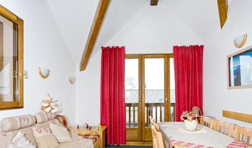 Location au ski Appartement 4 pièces 8 personnes - Les Hauts De Valmeinier - Valmeinier - Séjour