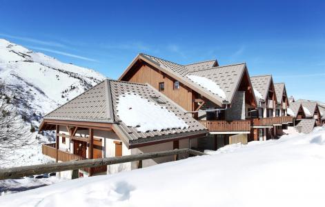 Vacances en montagne Résidence l'Ecrin des Neiges - Valmeinier - Extérieur hiver