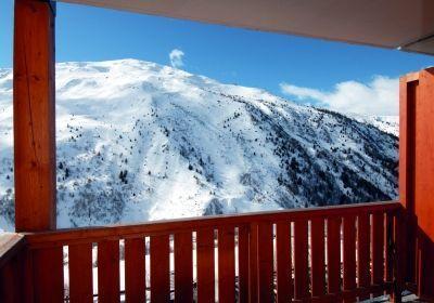 Location au ski Residence L'ecrin Des Neiges - Valmeinier - Extérieur hiver