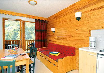 Location au ski Residence L'ecrin Des Neiges - Valmeinier - Banquette