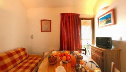 Location au ski Appartement 2 pièces cabine 5 personnes - Residence L'ours Blanc - Valmeinier - Coin repas