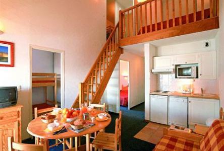 Location au ski Appartement 3 pièces mezzanine 8 personnes - Residence L'ours Blanc - Valmeinier - Mezzanine
