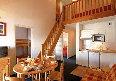 Location 8 personnes Appartement 3 pièces mezzanine 8 personnes - Residence L'ours Blanc