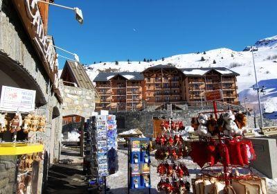 Location au ski Residence L'ours Blanc - Valmeinier - Intérieur