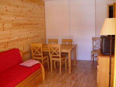 Location au ski Appartement 2 pièces 4 personnes - Residence Lagrange Le Grand Panorama 2 - Valmeinier - Coin repas