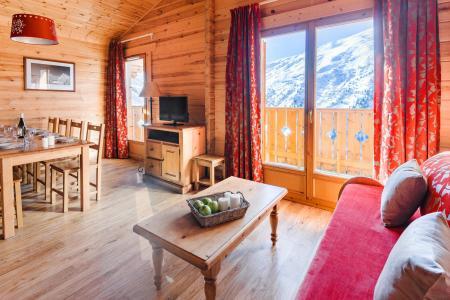 Rent in ski resort Résidence Lagrange le Grand Panorama 2 - Valmeinier - Living room