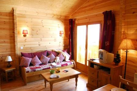 Location au ski Residence Lagrange Le Grand Panorama 2 - Valmeinier - Coin séjour