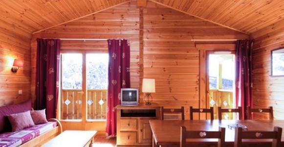 Location au ski Residence Lagrange Le Grand Panorama 2 - Valmeinier - Séjour