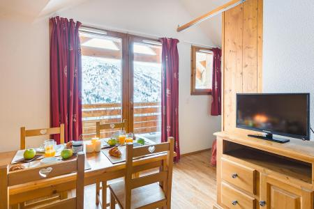 Location au ski Résidence Lagrange le Grand Panorama 2 - Valmeinier - Séjour