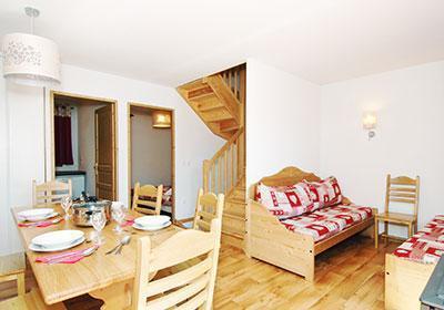 Location au ski Residence Le Grand Panorama 1 - Valmeinier - Banquette