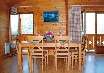 Location au ski Residence Le Grand Panorama 1 - Valmeinier - Table