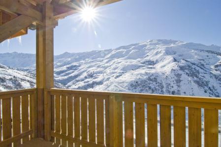 Vacances en montagne Résidence le Vermont - Valmeinier - Extérieur hiver
