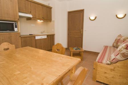 Location au ski Appartement 2 pièces 4 personnes (BBF) - Residence Le Vermont - Valmeinier - Séjour