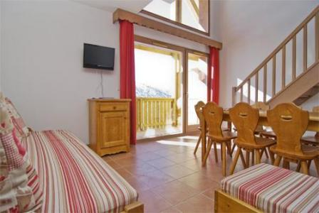 Location au ski Appartement 3 pièces cabine mezzanine 10 personnes (BCW) - Residence Le Vermont - Valmeinier - Séjour