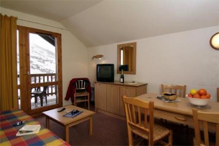Location au ski Appartement 2 pièces cabine 6 personnes - Residence Les Lumieres Des Neiges - Valmeinier - Séjour
