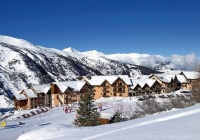 Location au ski Residence Les Lumieres Des Neiges - Valmeinier - Extérieur hiver