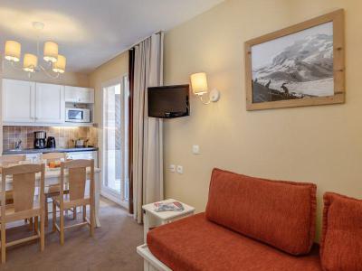 Аренда на лыжном курорте Квартира студия для 4 чел. - Résidence Pierre & Vacances le Thabor - Valmeinier