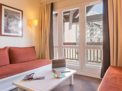 Аренда на лыжном курорте Апартаменты 3 комнат 8 чел. - Résidence Pierre & Vacances le Thabor - Valmeinier
