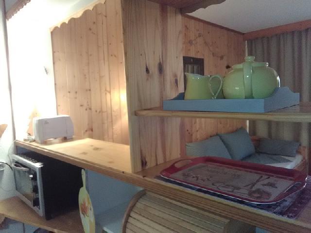 Location au ski Studio 3 personnes (051) - Residence La Camarine - Valmorel