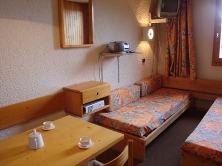 Location au ski Studio 4 personnes (002) - Residence Les Pierres Plates - Valmorel
