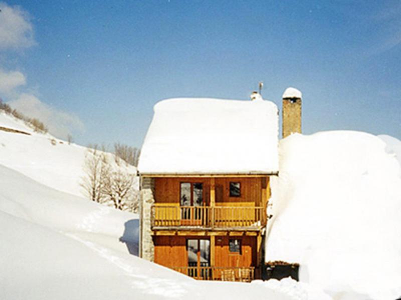 Holiday in mountain resort Chalet Vista Mont Blanc - Valmorel - Winter outside