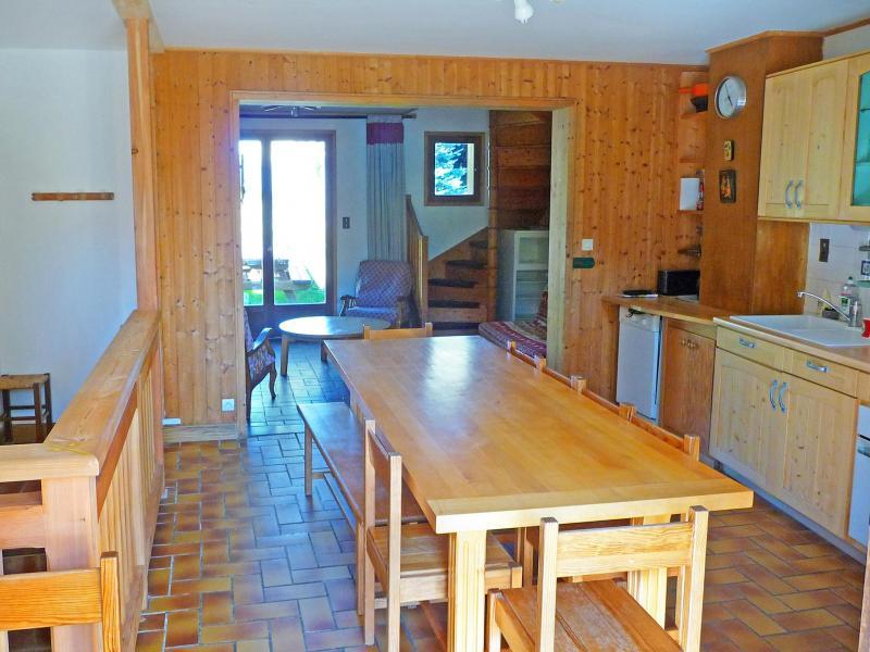 Location au ski Chalet Vista Mont Blanc - Valmorel - Salle à manger
