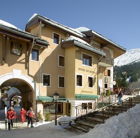 Wynajem na narty Hôtel du Bourg - Valmorel - Zima na zewnątrz
