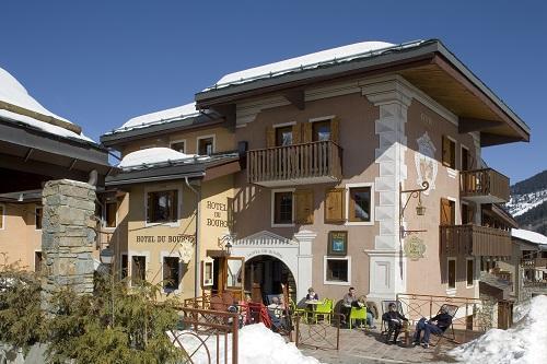 Vacances en montagne Hôtel du Bourg - Valmorel - Extérieur hiver