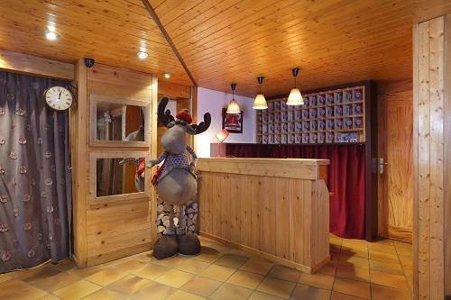 Wynajem na narty Hôtel du Bourg - Valmorel - Recepcja
