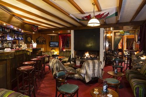 Wynajem na narty Hôtel du Bourg - Valmorel - W środku