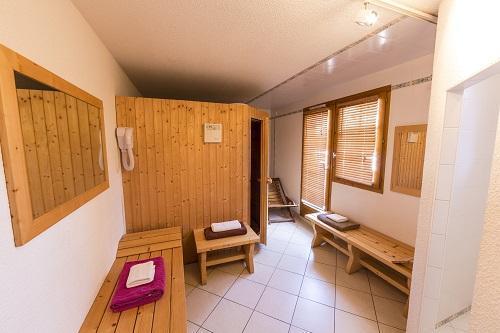 Location au ski Hôtel du Bourg - Valmorel - Sauna