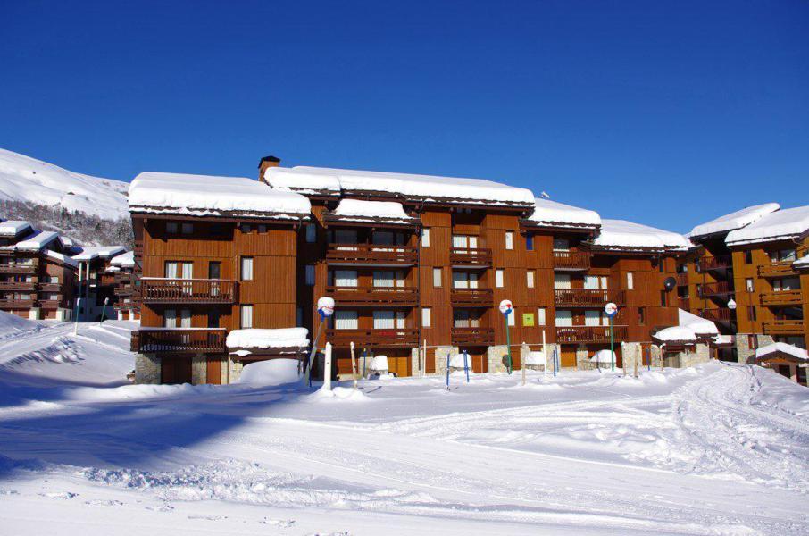 Wakacje w górach Studio podzielne 4 osoby (G136) - La Résidence le Prariond - Valmorel - Zima na zewnątrz